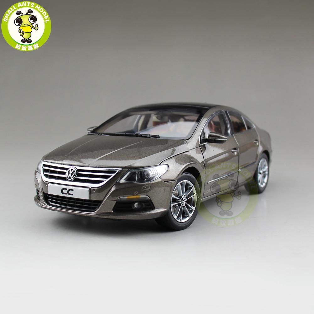 1/18 VW Magotan Passat CC Diecast Car Model Toys Girl Boy Birthday Gift Collection Hobby Gold стоимость