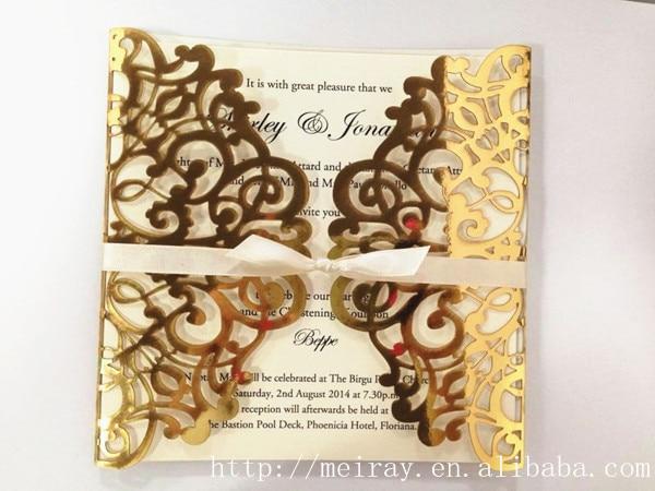 wedding cards invitation royal tapestry laser cut invitations