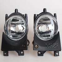 1 Pair Left Right Front Fog Light Without Bulbs Replacement Kit For BMW E39 For BMW