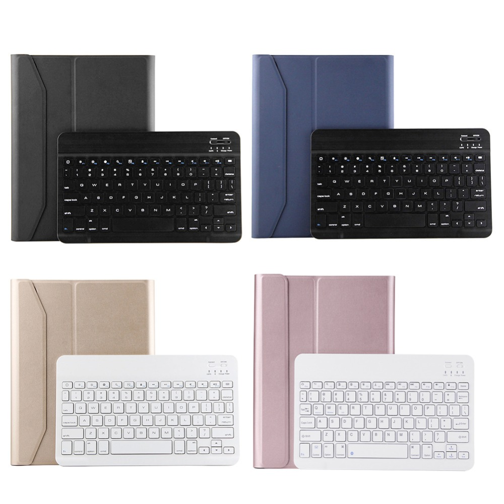 Teclado bluetooth Caso Teclado Bluetooth Full Body Protetor Capa Para Tablet ipad air1/air2/pro 9.7/ipad 9.7''