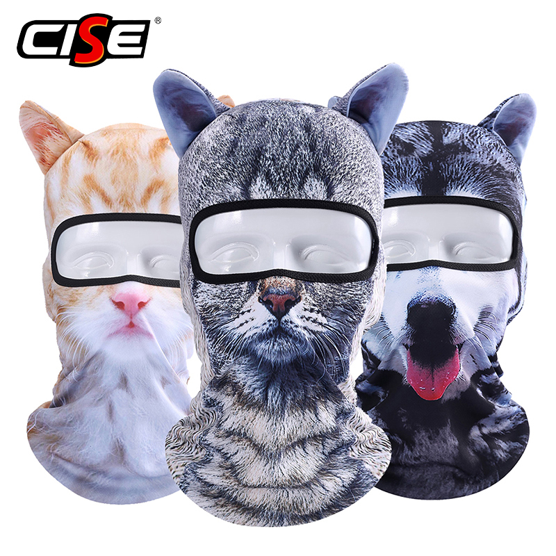 Cagoule moto masque complet Animal chat oreilles polaire bouclier coupe-vent respirant Airsoft Paintball Snowboard cyclisme SkiCagoule moto masque complet Animal chat oreilles polaire bouclier coupe-vent respirant Airsoft Paintball Snowboard cyclisme Ski