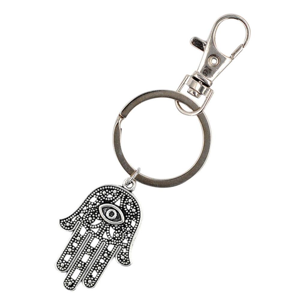 Hamsa Hand Pendant Keychains Jewelry Fashion Hamsa Hand