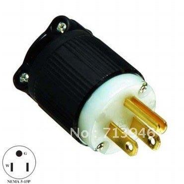 J 710 NEMA stecker, Amerikanischen UL verdrahtung 5 15 p stecker ...