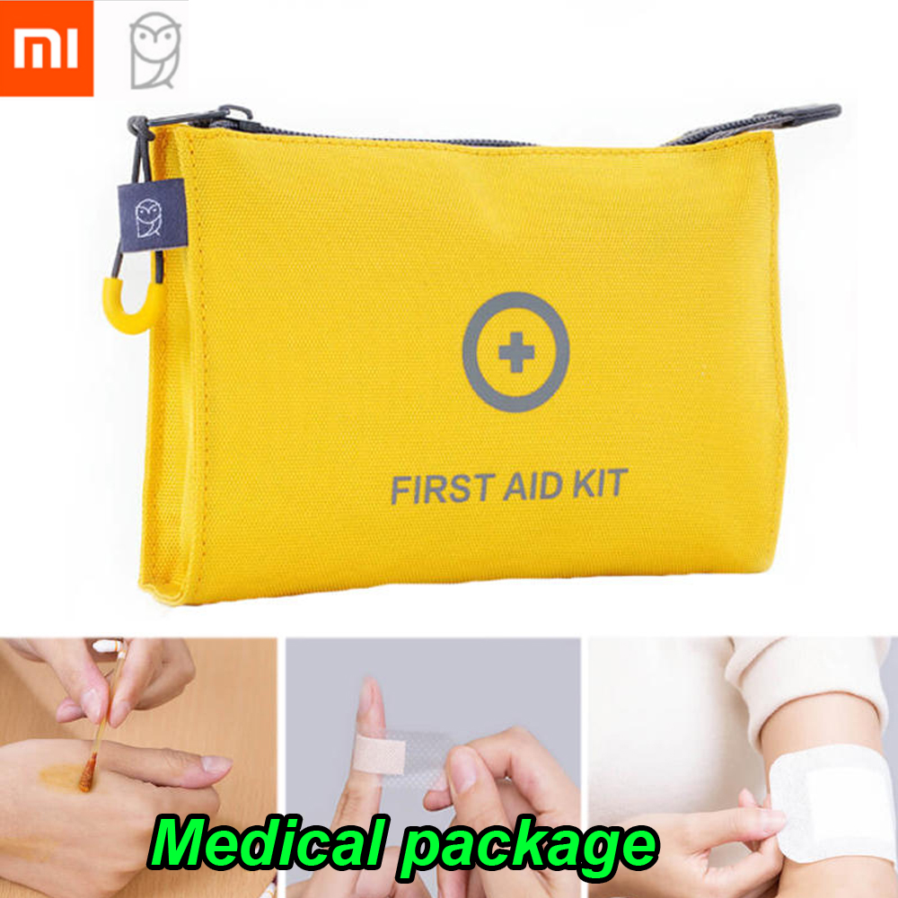 Industrious 100%xiaomi Miaomiaoce Portable Edc First Aid Kit Medical Package Emergency Survival Bag Medical Rescue Pack Outdoor Travel