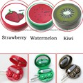 Strawberry Watermelon Kiwi Banana Unisex Contact Lens Lenses Box  Eyeglasses Box Eyes Case Cleaning Case Carry Holder Container