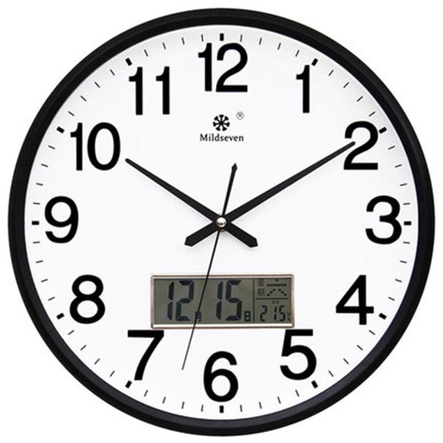 La mejor compra 3D Led Reloj de pared moderno, reloj Digital diseño ...
