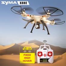 Professionnel SYMA RC Hélicoptère X8HC 2.4G Télécommande Drones avec HD Caméra Quadcopter (SYMA X8C Mise À Niveau)