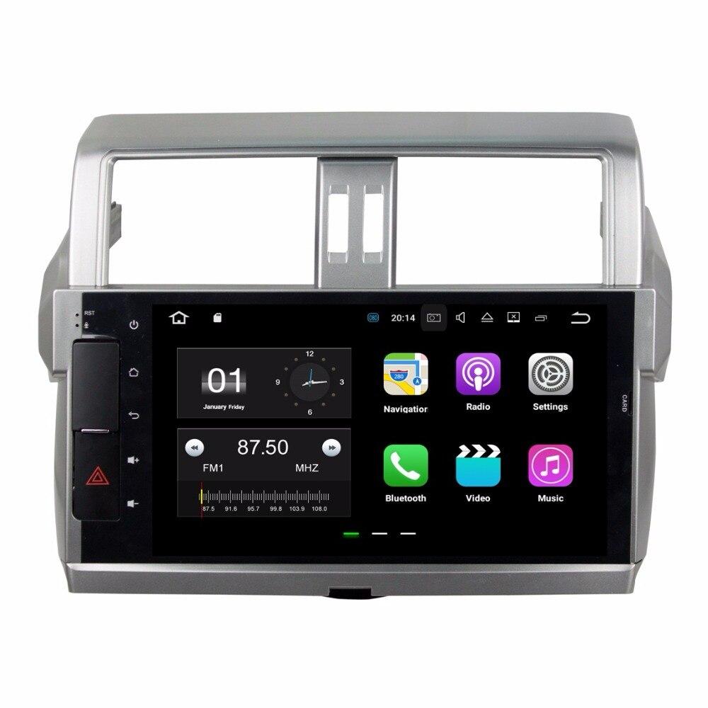 2 ГБ Оперативная память 4 ядра 10.1 &#171;Android 7.1 dvd-плеер автомобиля для Toyota Prado 150 2014 2015 2016 с Радио GPS WI-FI <font><b>Bluetooth</b></font> 16 ГБ Встроенная память