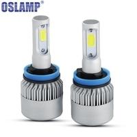 Oslamp LED Car Headlight H11 Single Beam COB Auto Led Headlight Bulb 6500K Headlamp For Toyota