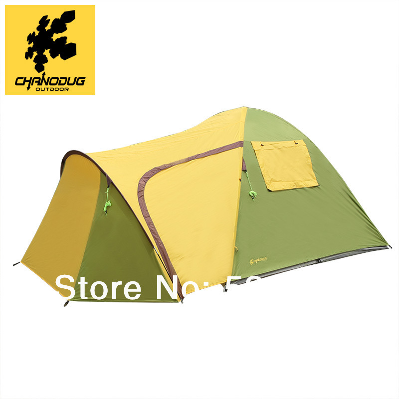 2014 new style high quality double layer one bedroom and one living room waterproof 3-4 person camping tent tourism bivvy tent 2015 new style high quality double layer untralarge one hall one bedroom family party camping tent