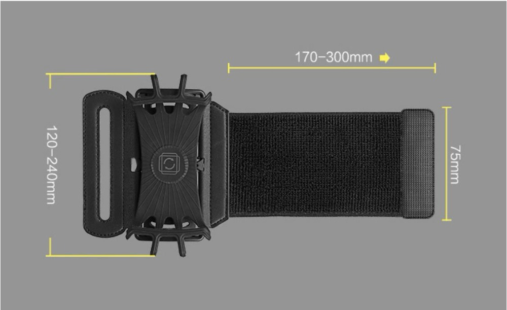SzBlaZe Professional Rotatable Running Bag Wrist Band Arm cell phones Holder Sport pocket accessories For Gym Fitness Jogging 16
