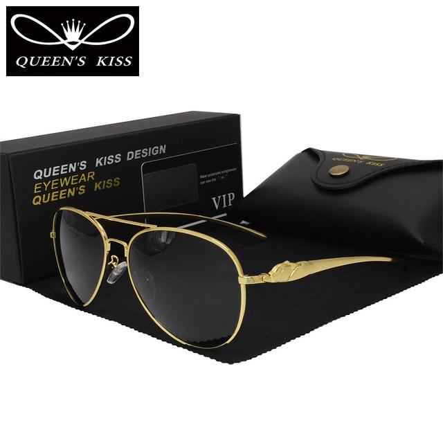 The new fashion high - end men sunglasses coated polarized sunglasses sunglasses polarized sunglasses Leopard head frame