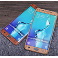 Fashion Wood Mobile Phone Stickers For Samsung S6,S6 Edge,S6Edge Plus,S7,S7 edge Front+Back Full Body Decal Anti-radiation Case