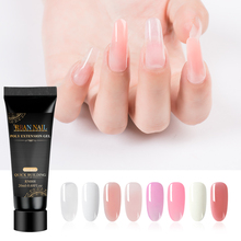 RBAN NAIL Poly Nail Gel Finger Extension 8 Colors Quick Building Art Tips Extend UV Builder