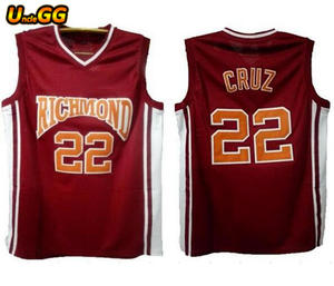 d3a72aeb9b2 Uncle GG #22 Timo Cruz Richmond Oilers Home Basketball Jersey For Moive  Jersey
