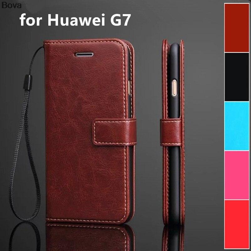 fundas Huawei Ascend G7 Väskekortshållare fodral för Huawei G7 - Reservdelar och tillbehör för mobiltelefoner - Foto 1