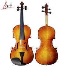 TONGLING Marke Anfänger Antiken Violine 4/4 3/4 Ahorn Violino hochwertigen Handgefertigten Akustische Studenten Violine Geige
