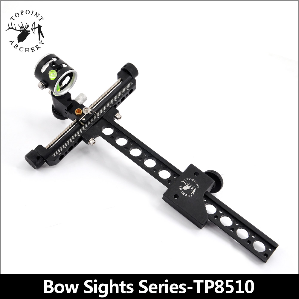 Topoint Archery Target Bow Sights 1 Pin 0.059