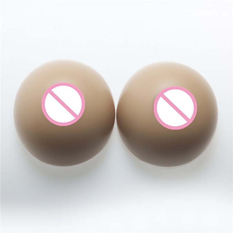 2800g/pair GG Large Cup Full Silicone Breast Forms Enhancer Shemale Cross Dresseing Fake Realistic Artificial Boobs цена 2017