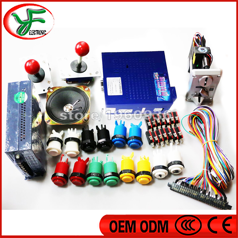 NEW Arcade games DIY  kits Game Elf 412 in 1 vertical arcade multigame for Jamma