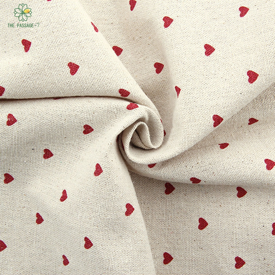 2015 new free shipping half meters zakka printed cotton for Printed cotton fabric