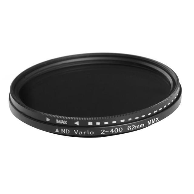 Adjustable Slim Fader ND Lens Filters Variable Neutral Density ND2 to ND400 30~86mm 30 37 46 49 52 55 58 62 67 72 77 82 86mm