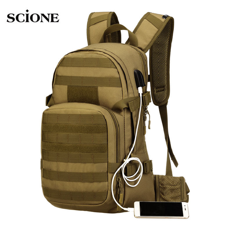 Climbing Bags Outdoor Sports Small Mini Backpack Camping Military Tactical Rucksack Molle Shoulder Bags Waterproof Assault Sling Bag Xa411wa