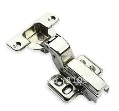 Hydraulic pressure Cabinet HardwareDoor Drawer Buffer Half overlay stainless steel