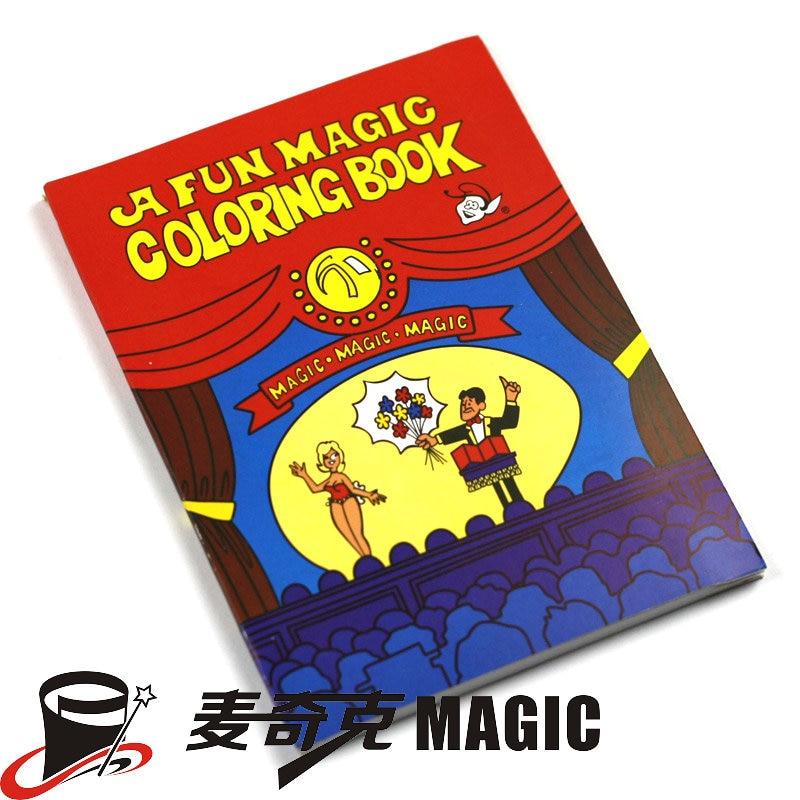 A Fun Magic Coloring Book Large size Magic tricks,Mentalism,Satge ...