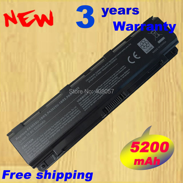 Battery for TOSHIBA Satellite C50 C55 C70 C75 L70 L75 PA5023 PA5024 PA5109U-1BRS