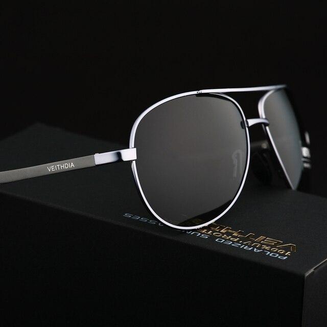 VEITHDIA Men's Polarized Sunglasses 5