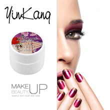 YinKang 8ml Soak off Pure 36 Colors UV Gel Nail Gel UV Gel Nail Art Tips Bling Cover Extension Soak Off Removable UV Gel