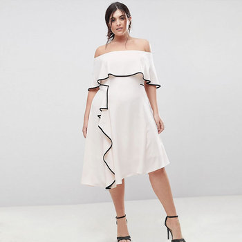 3fc39ead035 6XL Brand New Summer Dresses Fashion Party Off Shoulder Plus Size Dress Women  Hot ...