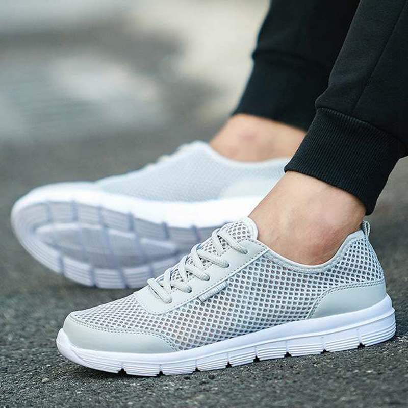 Men/'s Mesh Water Shoes Soft  Breathable Sneakers Beach Jogging Driving Gym Shoes