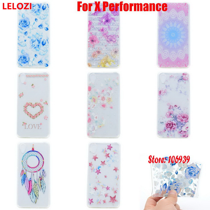 LELOZI Soft Transparent TPU Clear Silicone Silicon Gel Fundas Coque Case Cover For Sony Xperia X Performance Dual F8131 F8132