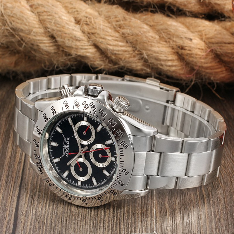 China Wholesale Jargar automatic mechanical movement designer inspired watches at cheap, reloj hombre