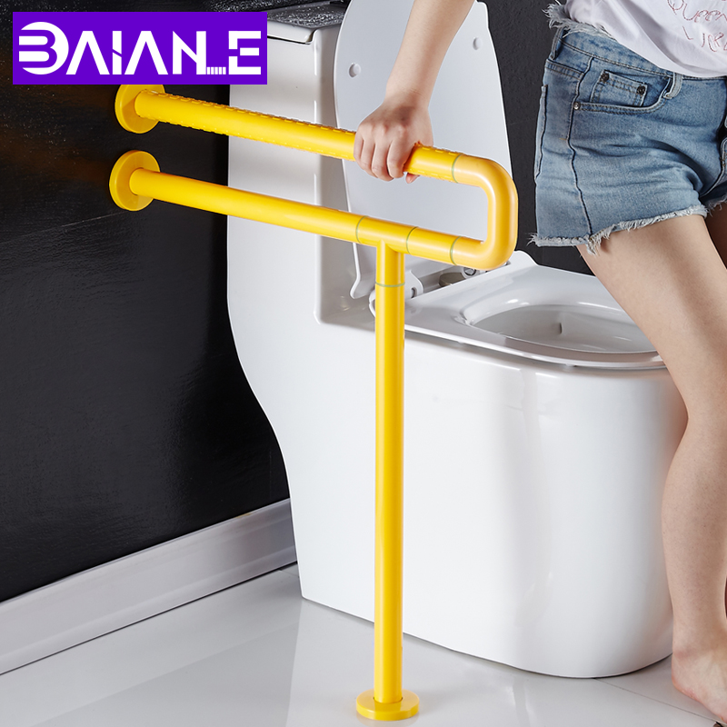 Bathroom Handrail Stainless Steel Grab Rail Wall Mount Toilet Handrails Disabled Shower Safety Bars Bathtub Grab Bar for Elderly grab bars gold brass wall mounted bathroom armrest handle bathtub grab bar toilet elderly handrail home safety grab bar og 51 35