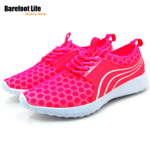 Women Men Running Shoes Lace Up Breathable Comfortable Outdoor Footwears Trainers Sports Sneakers Lovers