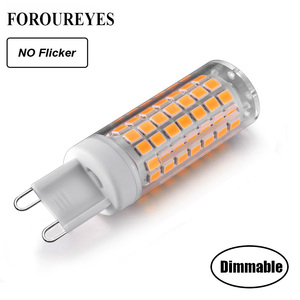 Dimmable No Flicker G9 LED BUL