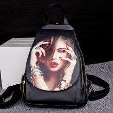 Модный принт мультфильм красивая девушка подростковые рюкзаки женственный портфель японская школьная сумка для мальчика Прохладный Путешествия Ноутбук Рюкзак