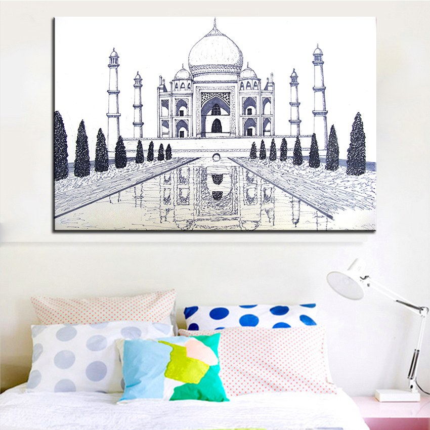 Online Get Cheap India Wall Paintings Aliexpresscom Alibaba Group