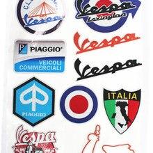 Vespa стикер мультяшка мотоцикл Стильный чехол для автомобиля Vespa Jdm Переводные картинки vespa piggio наклейки Italia
