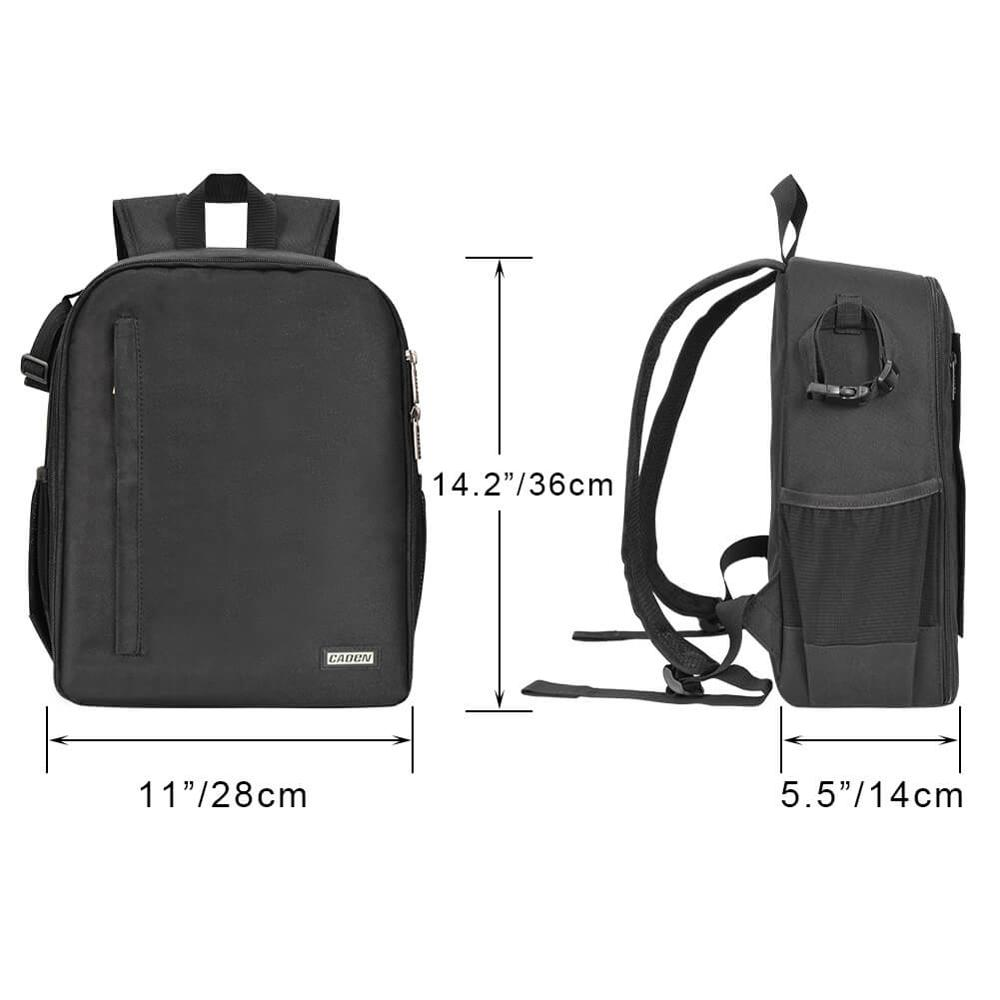 Image 4 - CADeN Multi functional Camera Backpack Video Digital DSLR Bag Waterproof Outdoor Camera Photo Bag Case for Nikon/ Canon DSLR-in Camera/Video Bags from Consumer Electronics