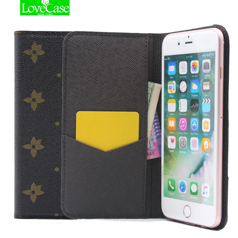 bilder für Für iphone 7 Retro Stil Pu-leder Flip-telefon Fall für Apple iPhone 7 7 plus ultradünne Brieftasche Stil Luxus Folio Fall abdeckung