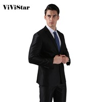 Free Shipping Slim Custom Fit One And Two Buttons Bridegroon Men S Business Dress Blazer Suits