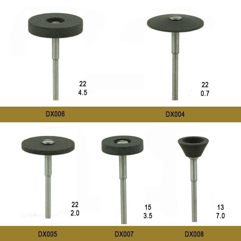 5pcs/box Dental burs Diamond Stone wheels for zirconia and all ceramics DuraCool dental tools