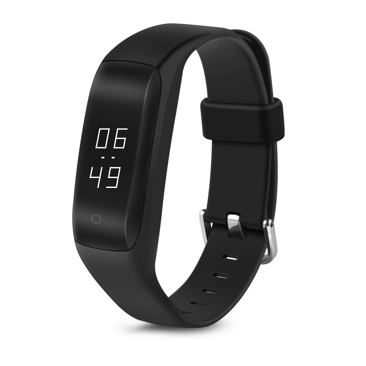 C5 Bluetooth font b Smart b font Bracelet Heart Rate Monitoring Fitness Tracker Wristband Waterproof Sports