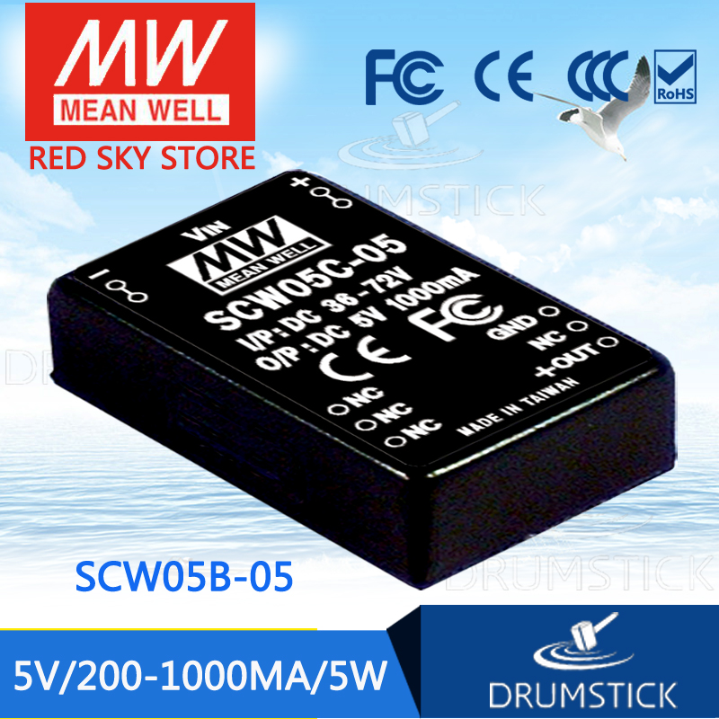 Best-selling MEAN WELL SCW05B-05 5V 1000mA meanwell SCW05 5V 5W DC-DC Regulated Single Output ConverterBest-selling MEAN WELL SCW05B-05 5V 1000mA meanwell SCW05 5V 5W DC-DC Regulated Single Output Converter