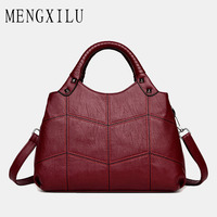 MENGXILU Small Crossbody Bags Handbags Women Famous Brand Designer Handbags High Quality Artificial Leather Shoulder Bag