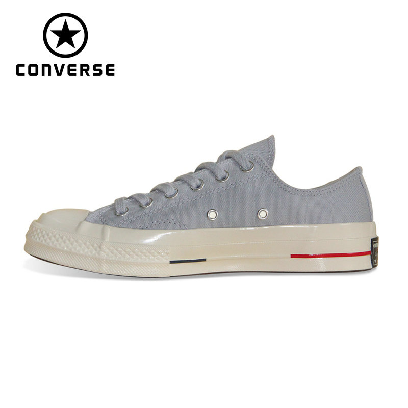 Original Converse 1970S Retro version all star shoes pure color classic unisex sneakers Skateboarding Shoes 160496C термосумка для ланч бокса iris barcelona basic mylunchbag цвет оранжевый